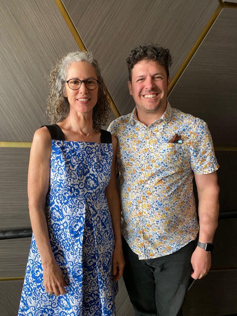 Helen Pynor and Jimmy Breen. Photograph Jenn Brazier.
