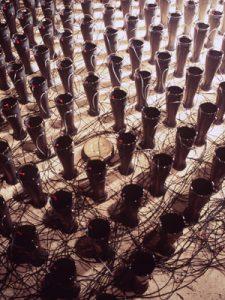 Image: Joyce Hinterding, Siphon (1991) – detail (photograph Ian Hobbs)