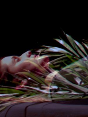 Cat Jones, Somatic Drifts (2014), installation view (sound design Melissa Hunt)