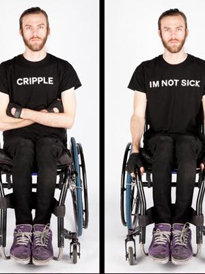 Daniel Savage, Daniel – Quadraplegic / Will you ever get better? 2014 No offense, but… 1-16 (of 18), Inkjet prints, 50 x 70cm