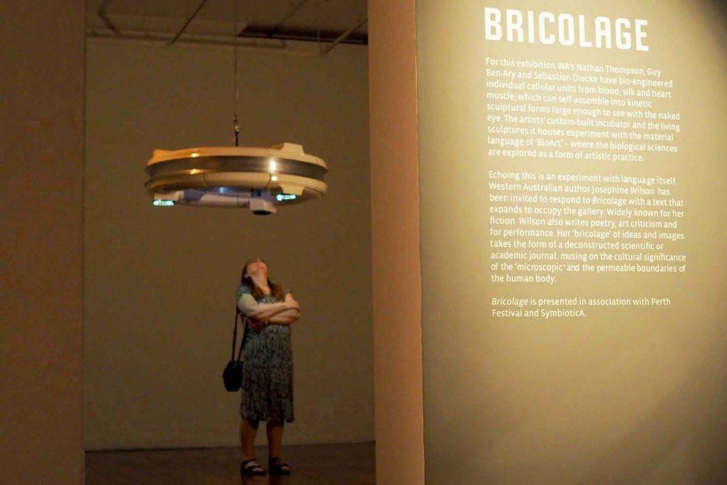 'Bricolage', exhibition view, Perth International Art Festival, Fremantle Art Centre, 2020. Photograph Simon Thompson.
