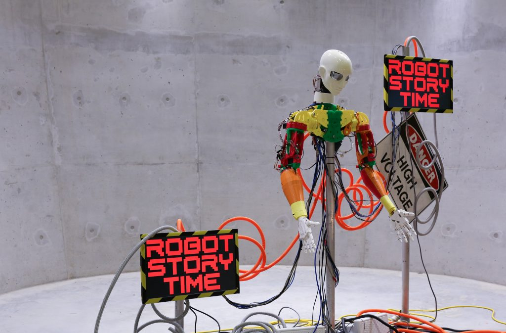 2970° The Boiling Point Practising Democracy, 2012015 Robot Story Time Cake Industries. Image Art Work Agency.