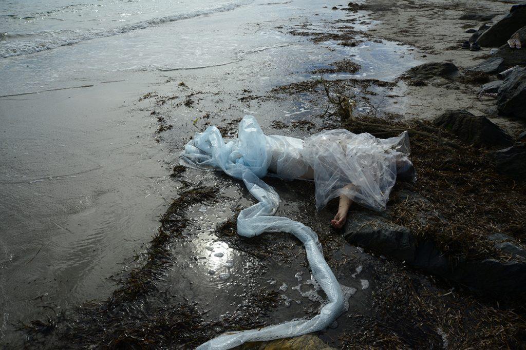 Niki Sperou, Guilt 9 from the series Plastics memento Mori, 2020. Photograph courtesy the artist.