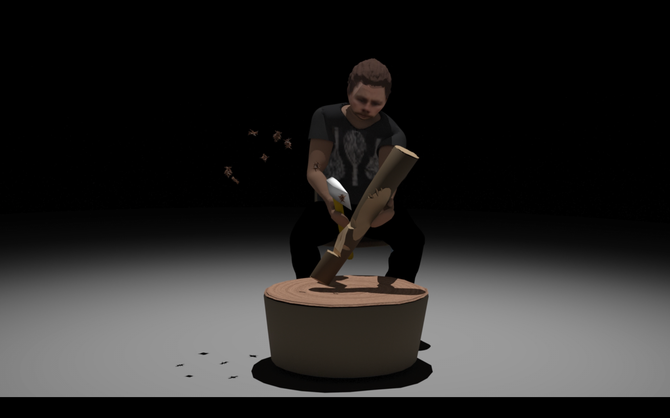 Brad Darkson, Smart Object, 2021, still from animation, duration 3min 10sec.